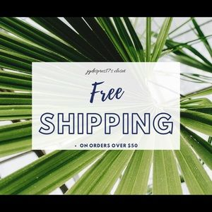 Free Shipping on orders $50+